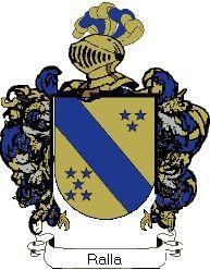 Escudo del apellido Ralla