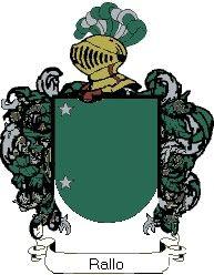 Escudo del apellido Rallo