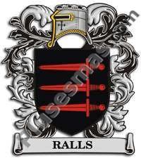 Escudo del apellido Ralls