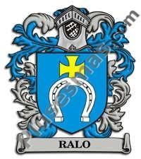 Escudo del apellido Ralo