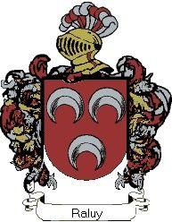 Escudo del apellido Raluy