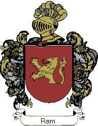 Escudo del apellido Ram
