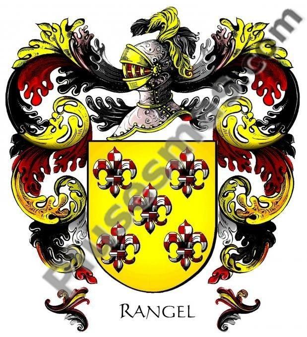 Escudo del apellido Rangel