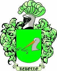 Escudo del apellido Rebollo
