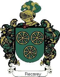 Escudo del apellido Recarey