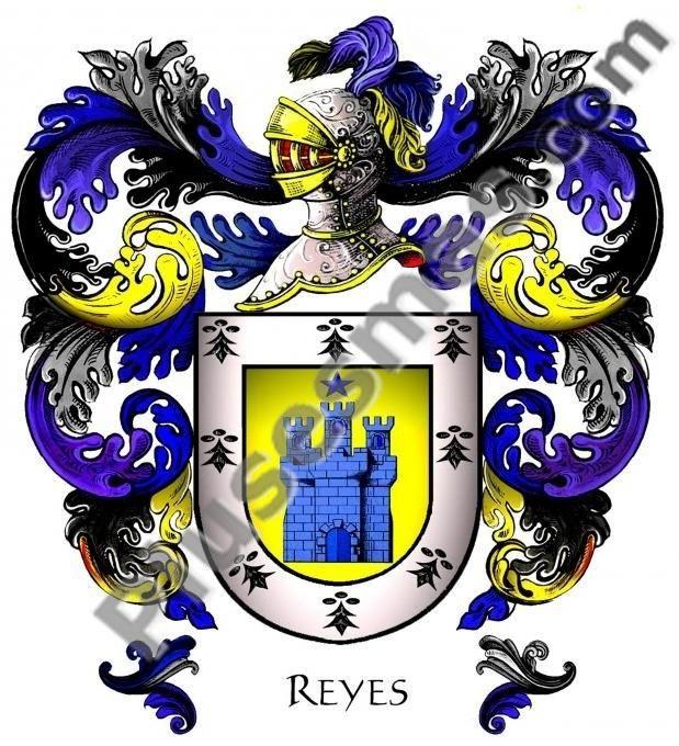 Escudo del apellido Reyes