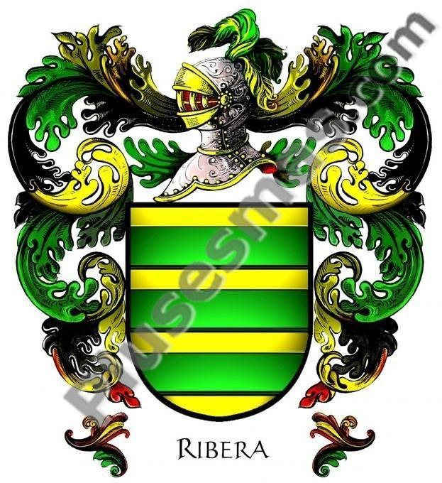 Escudo del apellido Ribera