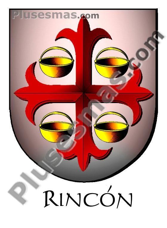 Escudo del apellido rincon for El rincon del espejo