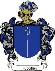 Escudo del apellido Ripollés