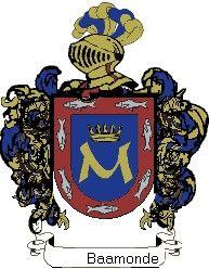 Escudo del apellido Baamonde