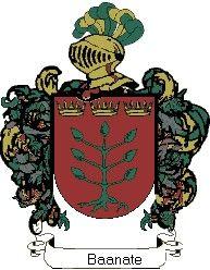 Escudo del apellido Baanate