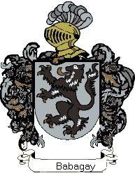 Escudo del apellido Babagay