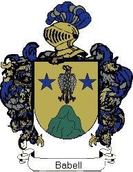 Escudo del apellido Babell