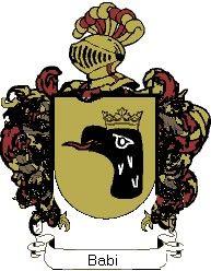 Escudo del apellido Babi