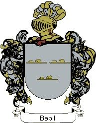Escudo del apellido Babil