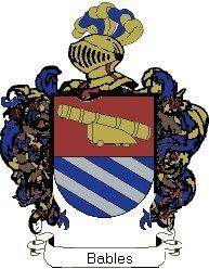 Escudo del apellido Bables