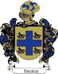 Escudo del apellido Bacaca