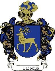 Escudo del apellido Bacaicua