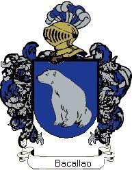 Escudo del apellido Bacallao