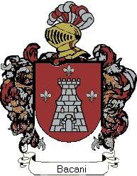 Escudo del apellido Bacani