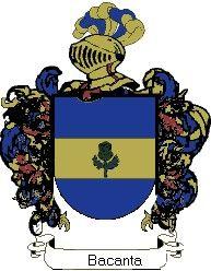 Escudo del apellido Bacanta