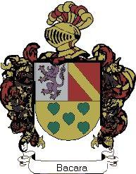 Escudo del apellido Bacara