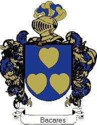 Escudo del apellido Bacares