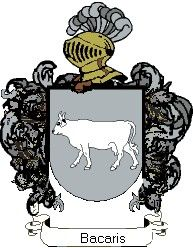 Escudo del apellido Bacaris