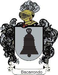 Escudo del apellido Bacarrondo