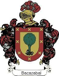 Escudo del apellido Bacazabal