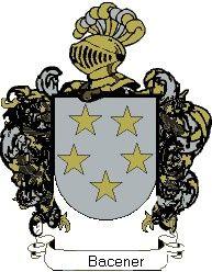 Escudo del apellido Bacener