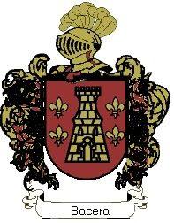 Escudo del apellido Bacera