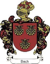 Escudo del apellido Bach