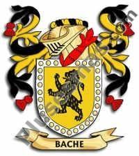 Escudo del apellido Bache