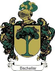 Escudo del apellido Bachellar