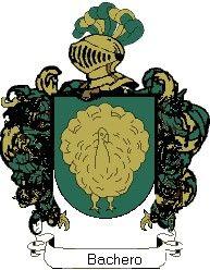 Escudo del apellido Bachero