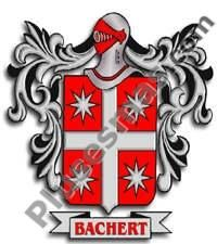 Escudo del apellido Bachert