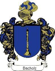 Escudo del apellido Bacholz