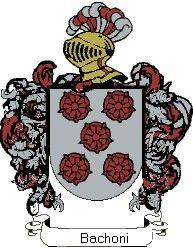 Escudo del apellido Bachoni