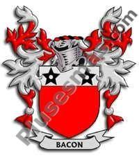 Escudo del apellido Bacon