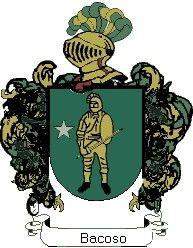 Escudo del apellido Bacoso