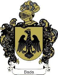 Escudo del apellido Bada