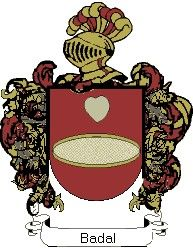 Escudo del apellido Badal