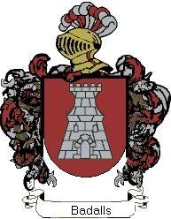 Escudo del apellido Badalls