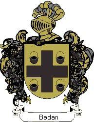 Escudo del apellido Badan