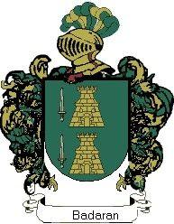 Escudo del apellido Badaran