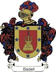 Escudo del apellido Badell