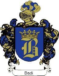 Escudo del apellido Badi