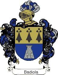 Escudo del apellido Badiola