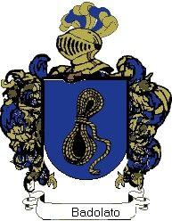 Escudo del apellido Badolato